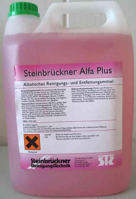 Alkaiczny środek do mycia samochodu ciężarowego Alfa Plus